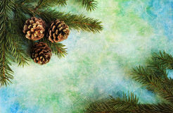 Christmas background. Abstract christmas background with fir branches Royalty Free Stock Images