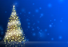 Christmas Background. Abstract Illustration. Stock Photo