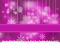 Christmas Background. Abstract Christmas background with snowflakes Royalty Free Stock Photo