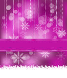 Christmas Background. Abstract Christmas background with snowflakes Royalty Free Stock Image