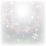 Christmas background. Abstract Christmas background with snowflakes, vector illustration Royalty Free Stock Image