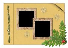 Christmas background album vector illustration