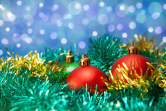 Christmas background ball Royalty Free Stock Photo