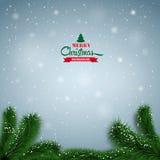 Christmas-background-ball Royalty Free Stock Photos