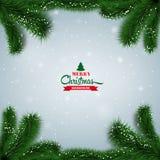 Christmas background ball Stock Image