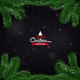 Christmas background ball Royalty Free Stock Image