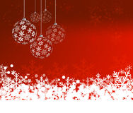 Christmas Background with balls Abstract Vector Illustration. E. Christmas Background with balls. Abstract Vector Illustration. Eps10 Royalty Free Illustration