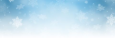 Christmas background banner border winter pattern decoration snow snowflakes copyspace copy space royalty free stock photography