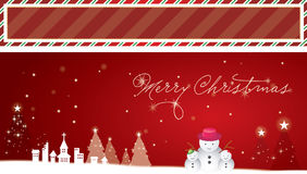 Christmas background and banner Stock Photo