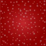 Christmas background of big and small snowflakes royalty free illustration