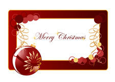 Christmas background blank Royalty Free Stock Images