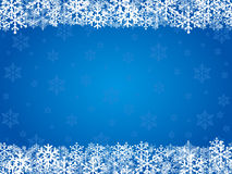Christmas background blue Stock Photos