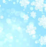 Christmas background of blue color Royalty Free Stock Image