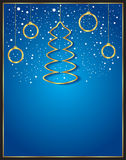 Christmas Background blue. Christmas background for seasonal cards and event, posters Vector Illustration