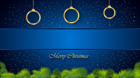Christmas Background blue. Christmas background for seasonal cards and event, posters Stock Illustration