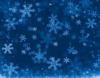 Christmas background blue Royalty Free Stock Photos