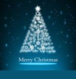 Christmas background  blue Stock Photo