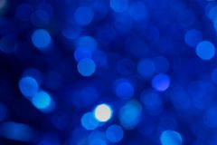 Christmas background with blur lights stock photography