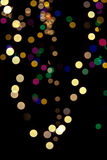 Christmas background of blurred lights Royalty Free Stock Images