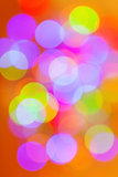 Christmas background, bokeh effect Royalty Free Stock Photography