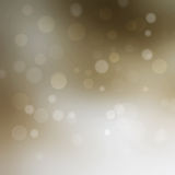 Christmas background with bokeh lights Stock Photography