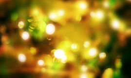Christmas background with bokeh lights Royalty Free Stock Photos