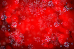 Christmas background with bokeh lights Royalty Free Stock Photo