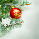Christmas background border Stock Images