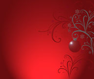 Christmas background bordo Royalty Free Stock Image