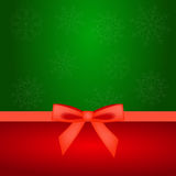Christmas background with bow Stock Photos