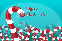 Christmas background candy Royalty Free Stock Photos