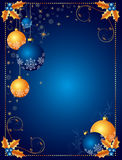 Christmas background or card. With space for text Royalty Free Stock Photos