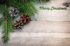 Christmas background, card. Stock Photos