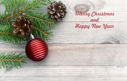 Christmas background, card. Stock Images