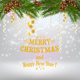 Christmas background card Royalty Free Stock Photo
