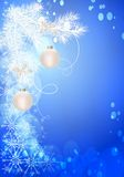 Christmas background, cdr vector Stock Photos