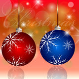 Christmas background. Celebration  Emergence  the Invitation  Sexual  Snow  White  the Star  Shine  Richly  the Coupon Royalty Free Stock Photography