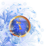 Christmas background with chimes Stock Images