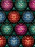 Christmas background from balls royalty free illustration