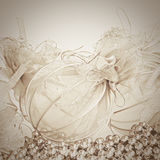 Christmas background from Christmas balls. Gentle Christmas background from Christmas balls. Sep Stock Photography