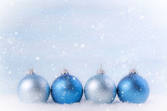 Christmas background with Christmas balls. Royalty Free Stock Images