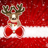 Christmas background with christmas decor elements, Stock Photos