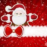 Christmas background with christmas decor elements Stock Photo