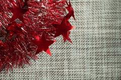 Christmas background Christmas decorations rain royalty free stock photo