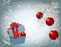 Christmas background with Christmas decorations Royalty Free Stock Image