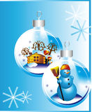 Christmas background Christmas decorations Royalty Free Stock Photo