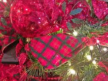 Christmas Background. Christmas - Holiday background, suitable for seasonable websites or for many other holiday uses signs, newsletters, cards, etc Stock Images