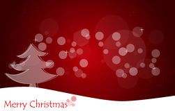 Christmas background with Christmas tree. Royalty Free Stock Photography