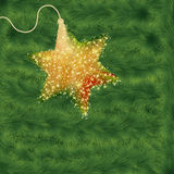 Christmas background with christmas tree. EPS 8 Stock Photos