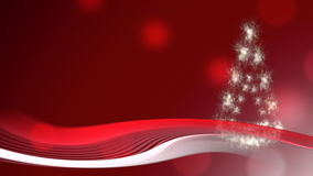 Christmas background with Christmas tree stock video footage